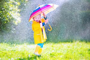 Sonnen und Regen